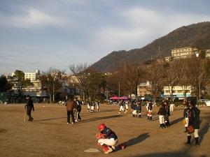八木小学校練習