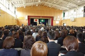 緑井小学校卒業証書授与式