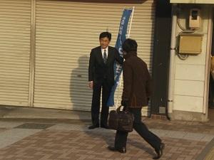 緑井駅あいさつ