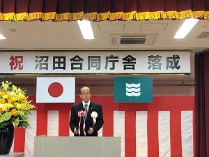 松井市長祝辞