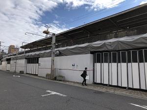 横川駅工事12月