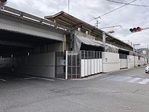 横川駅工事