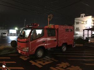 緑井消防車